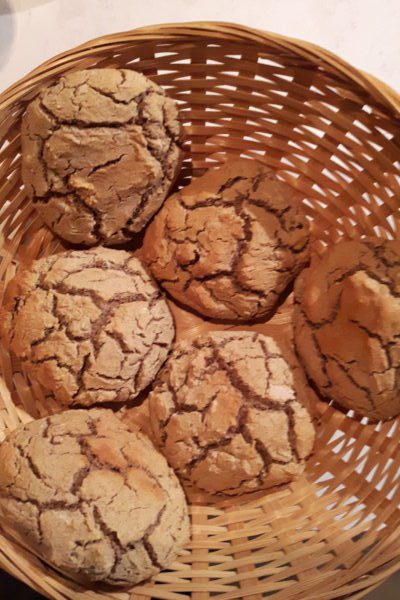 Broodjes van boekweitmeel (glutenvrij)